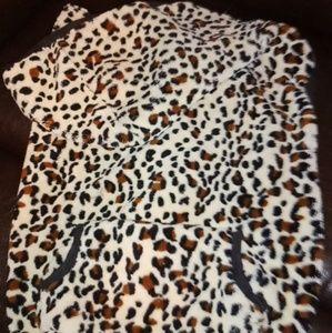 Cheetah Print Dog Sweater